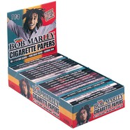 Full Box - Bob Marley Hemp Regular 1.25 (1 1/4) Varied Smoking Papers - The Green Box Australia (4439232970787)