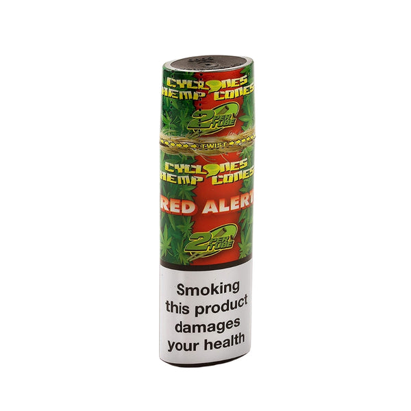 Cyclones Hemp Red Alert Blunts (Strawberry) - The Green Box Australia (4580614602787)