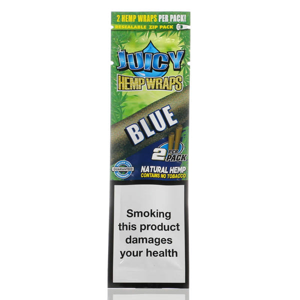 Juicy Jays Hemp Wraps - Blue (1029944639524)
