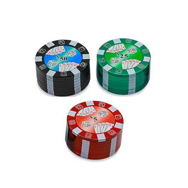 Poker Chips Grinder with 2 pieces - The Green Box Australia (4579960520739)