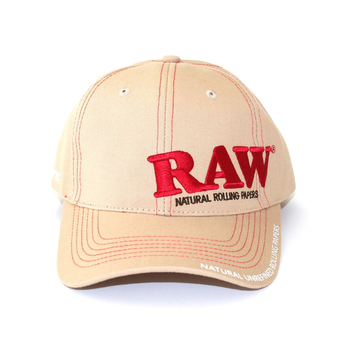 Raw Tan Cap - The Green Box Australia (4395050008611)