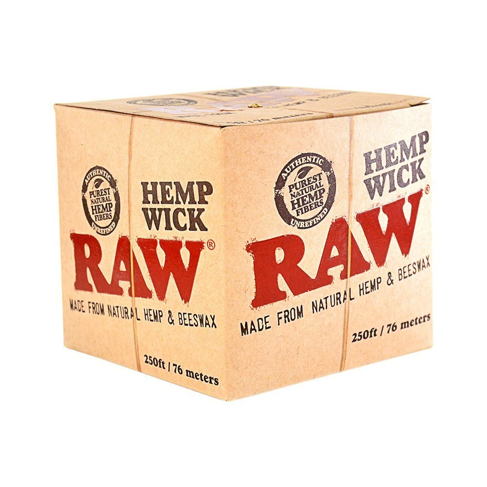 RAW Hemp Wick Ball 76m - The Green Box Australia