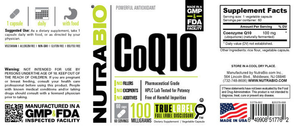 Coq10 - 60 Servings