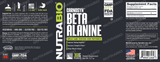 NutraBio Beta Alanine (CarnoSyn) Powder - 360 Grams