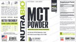 NutraBio MCT Powder - 1 Pound