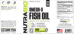 NutraBio Omega-3 Fish Oil