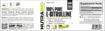 NutraBio L-Citrulline Powder 150 Grams