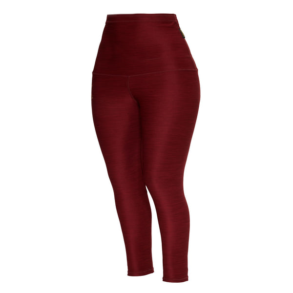 red chili high waist leggings for plus size curvy women