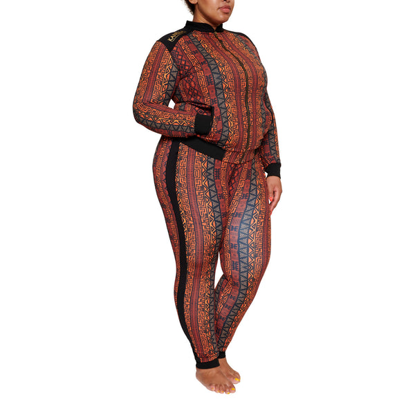 African Tracksuit Plus Size Curvy