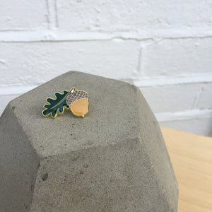 EXCLUSIVE Acorn Enamel Pin