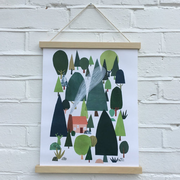 EXCLUSIVE Sarah Dyer Papercut Print
