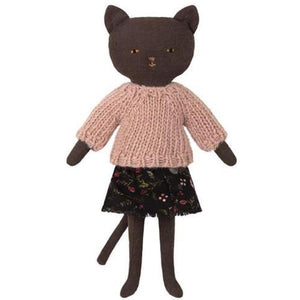 Maileg - Cat with Knit Jumper (Rose)