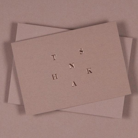 OLA Studio - Thank You Card