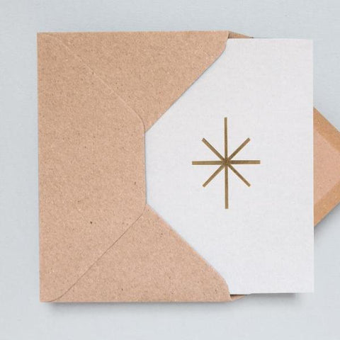 OLA Studio - STAR foil blocked Card