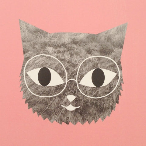 Fur & Glasses Print