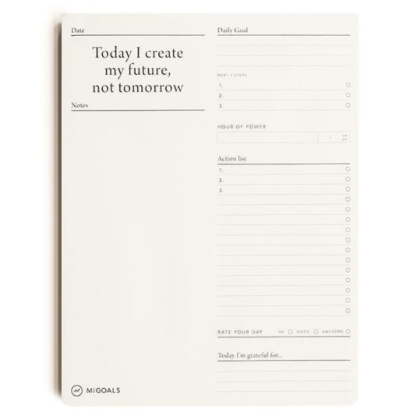MiGoals - To-Do-List Pad