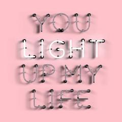 You Light Up My Life - A3 Print
