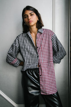 ASHLEY MINI TARTAN SHIRT