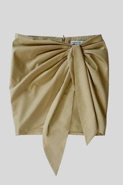 HAMPTON WRAP SKIRT KHAKI