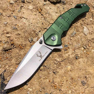 Green Clover Knife 8""