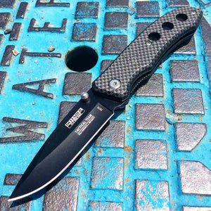 Mini Carbon Fiber Pattern Knife