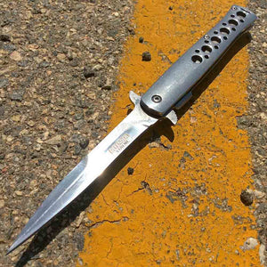 Chrome Stiletto 9.5""