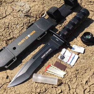 Black Survival Knife