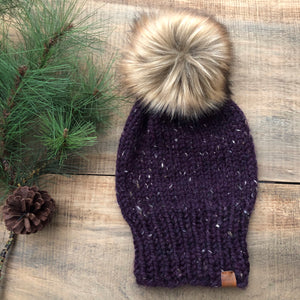 MacGregor Point Custom Order Extra Slouchy and Folded Brim Toque