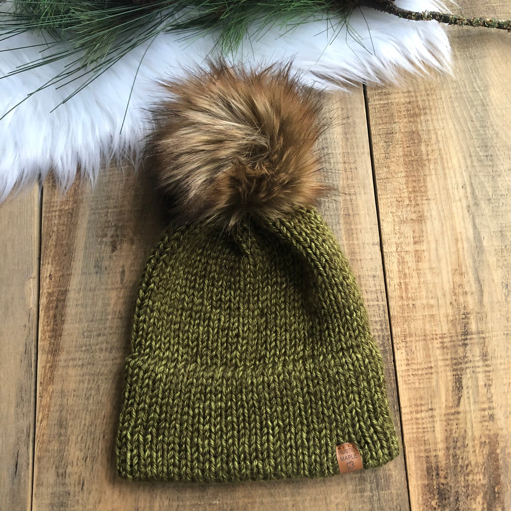 Pinery Burley Ready To Ship Double Brim Non-Wool Toque