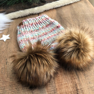 Pompoms Add A Second Pom to Your Hat