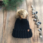 Luxury Muskoka Peruvian Highland Wool Toque Black