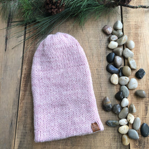 Murphy Point Slouchy Beanie Watch Cap Double Knit Wool/Acrylic Blend
