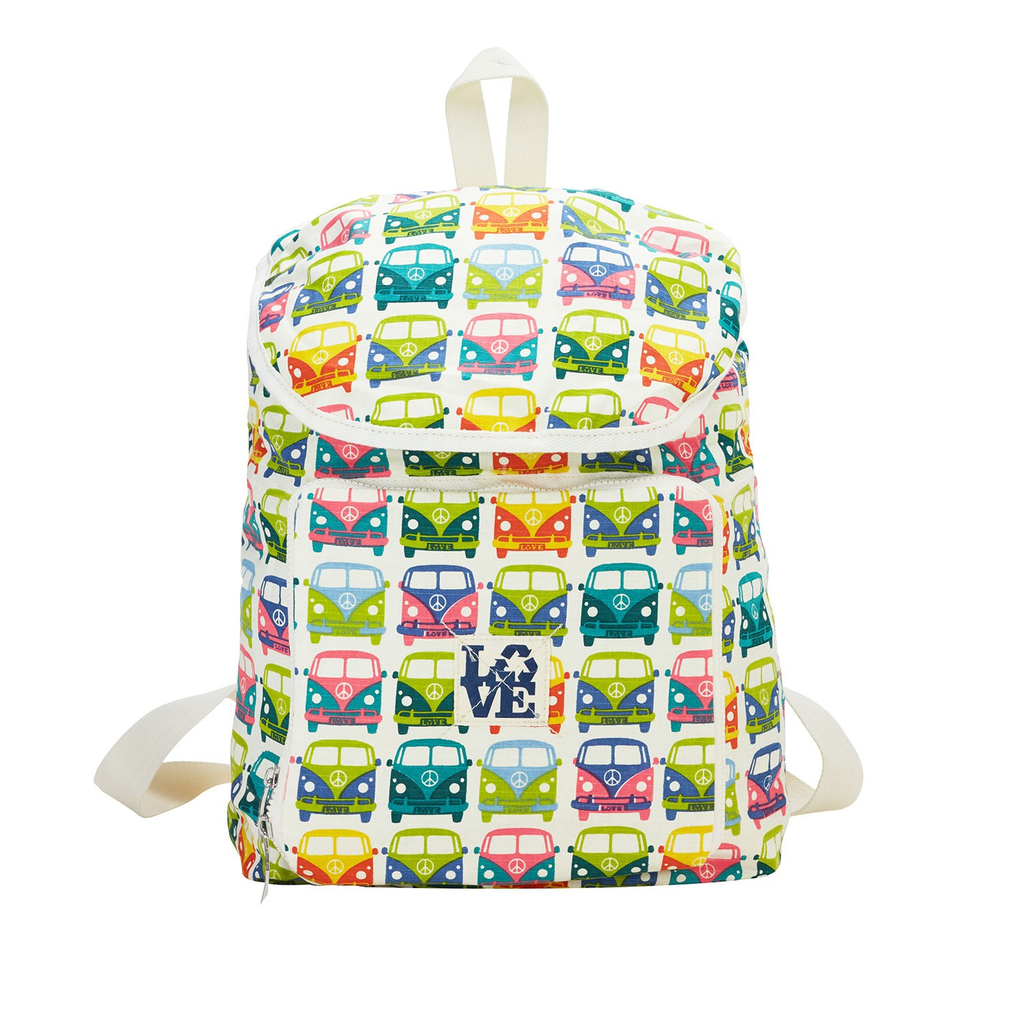 PACKABLES TRAVEL BACKPACK - LOVE BUS