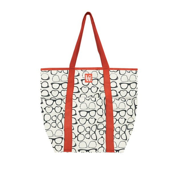COOL TRIO 3 POCKET COOLER TOTE - SUNNY SHADES
