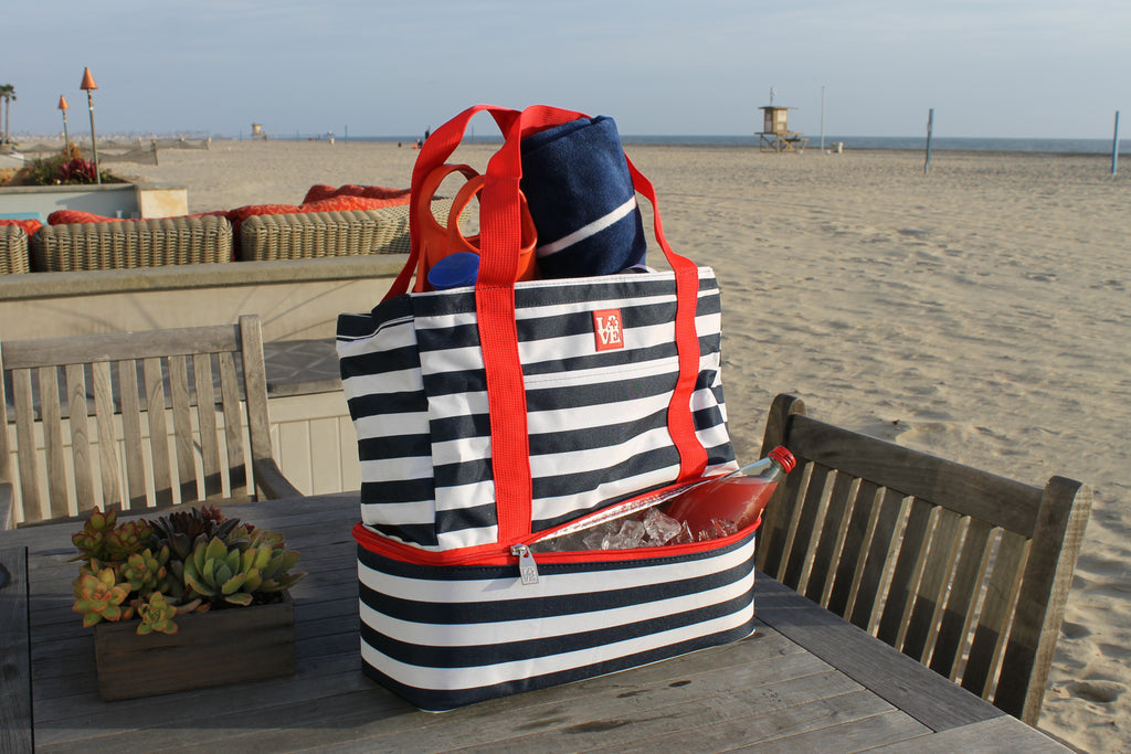 Beach Time Cooler Tote