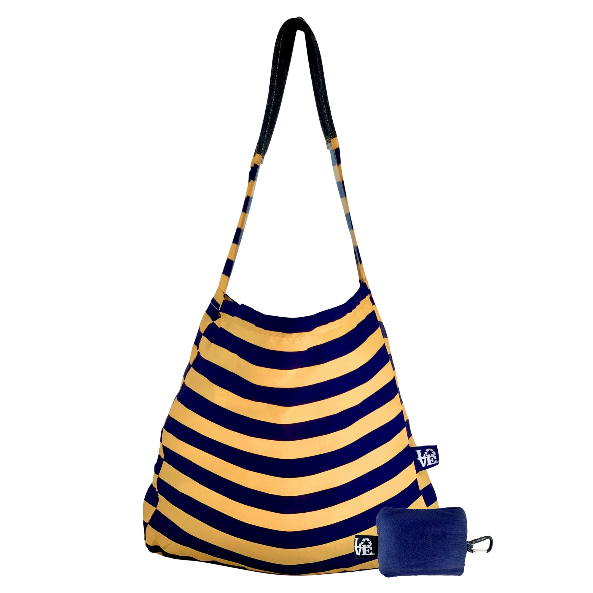 STASH IT -  FANFARE NAVY (Navy and Gold)