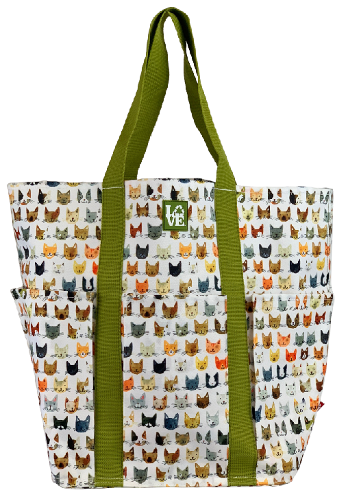 TRIO TOTE - SLICK KITTY