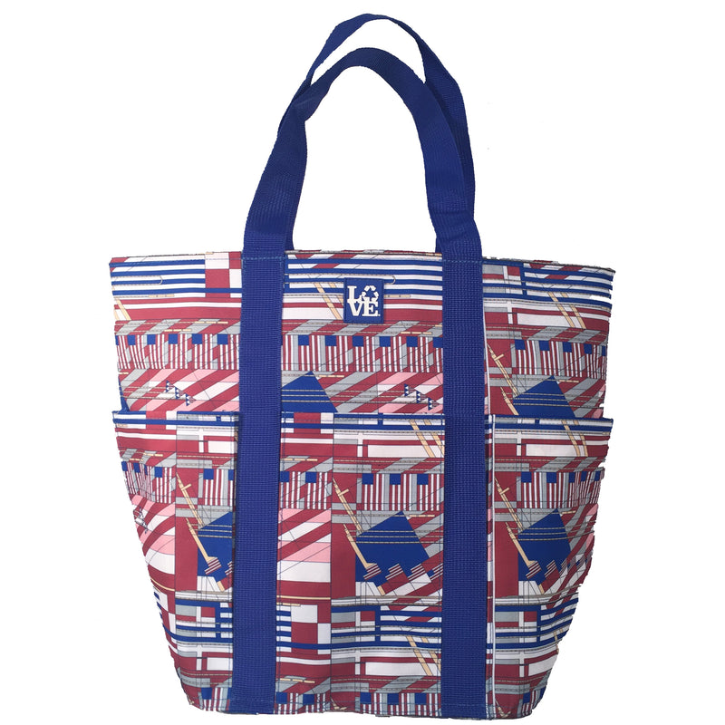 TRIO TOTE - FLAGS FLW