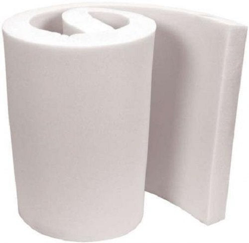 "Mybecca Upholstery Foam Cushion Regular Density Standard, 4"" X 24"" X 72"""