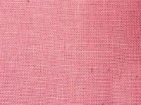 "Burlap By The Yard - 60"" Wide - 100% Jute (Pink)"