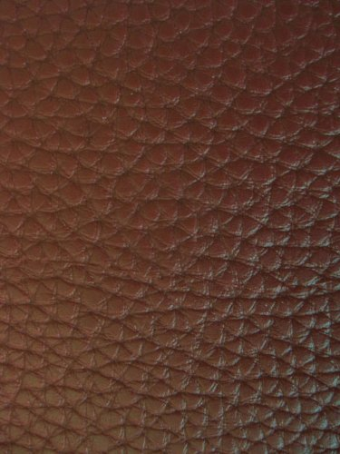 "54"" Wide Faux Leather Vinyl Chocolate Fabric By The yard"