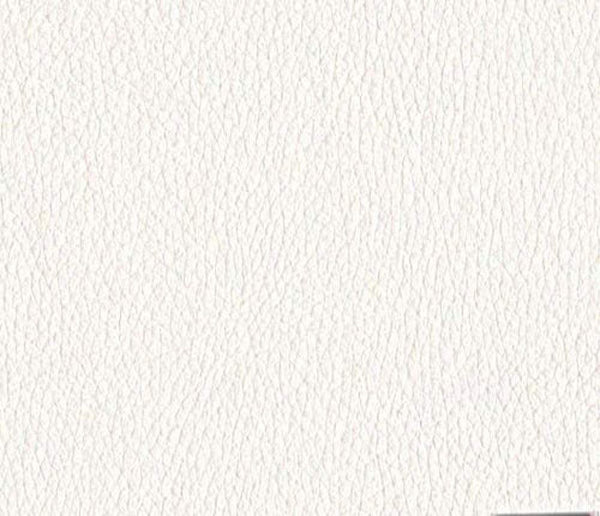 Faux Leather Fabric Calf White (10 yards)