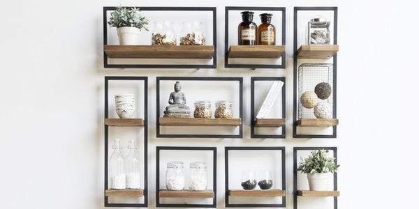 Maximize Your Storage: 8 Decorative Wall Shelves (& How To Best Use Them)