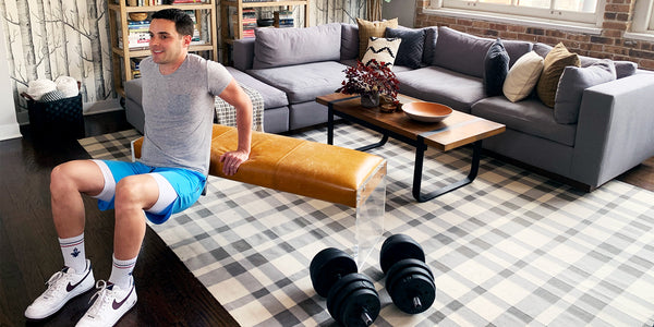 Missing the Gym? Here's 5 Ways to Use Your Furniture to Break a Sweat