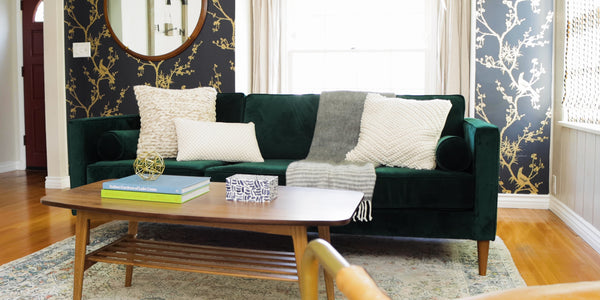 Furniture Fundamentals: How to Style Your Sofa 3 Ways