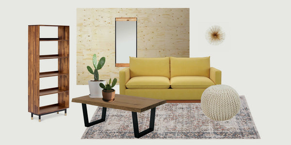 1 Room, 3 Styles: The Living Room
