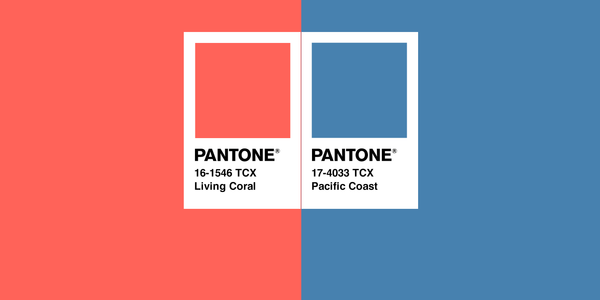 Color Combo of the Month | Living Coral + Pacific Coast