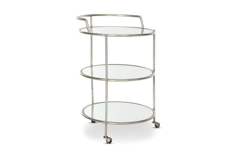 Carlton Bar Cart SILVER