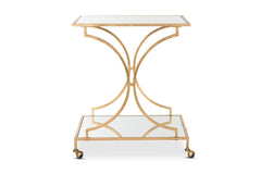 Afton Bar Cart GOLD