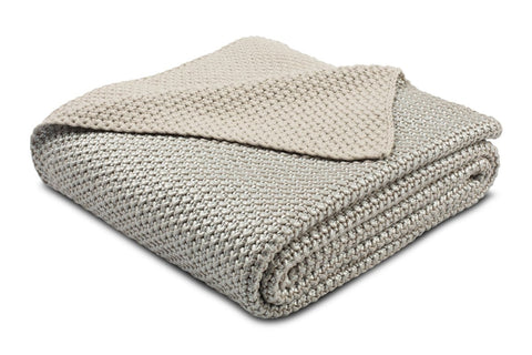 Clover Knit Throw